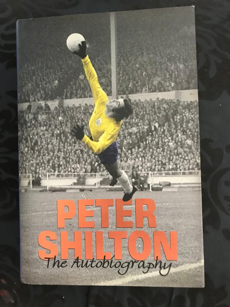 Gold Signed Peter Shilton Autobiography