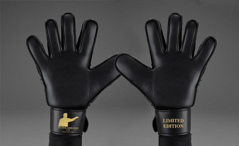 Black & Gold Signed Goalkeeper Gloves